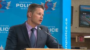 Edmonton police say toddler died of trauma to the head