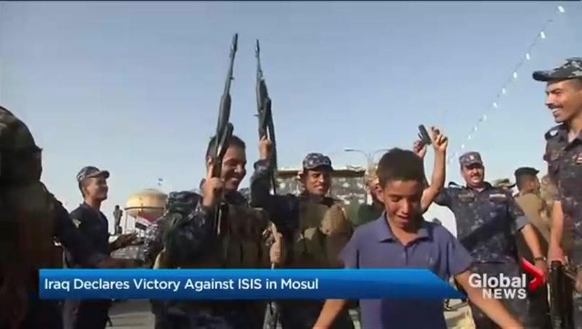 Iraqi military's victory over ISIS in Mosul expected today