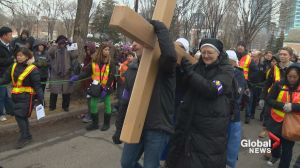 Calgarians mark Good Friday with the Stations of the Cross