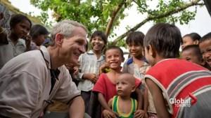 Power of generosity through the eyes of humanitarian Dave Toycen