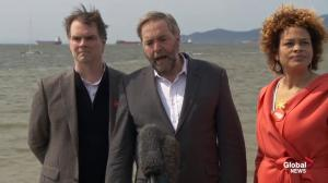 Mulcair wants Harper to reopen Kitsilano Coast Guard