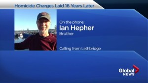 Paul Hepher's brother speaks about charges being laid 16 years later