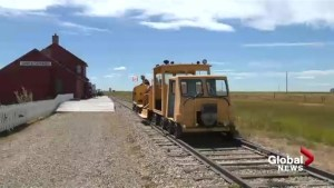Southern Alberta museum taking people on a train ride through history