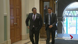 Federal Leaders spend the day in Calgary