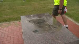 War memorial statue stolen from cemetery