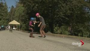 Clinic promotes safe longboarding