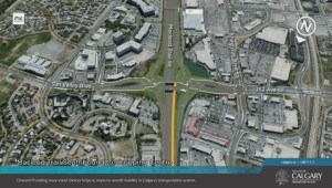 Calgary's new diamond interchange is forward thinking
