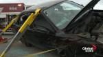 Laval fake crash site