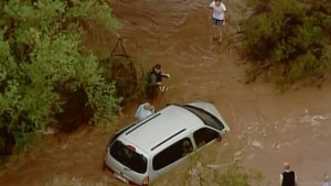 Arizona hit by flash flood