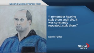 Derek Puffer takes the stand in Powers murder trial