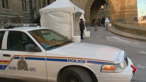 Security on Parliament Hill after Ottawa shooting