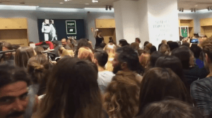 Customers go crazy to get Balmain x H&M clothing during launch