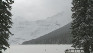 Waterton Lakes National Park snowpack below average