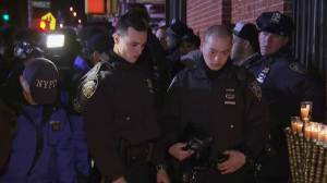 Cops across U.S. on high alert after weekend NYPD shooting