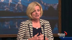 Notley to be sworn in Sunday