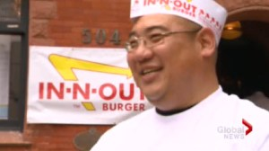 Toronto gets a taste of In-N-Out Burger