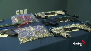 Major gun and drug bust in Vancouver