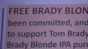 Massachusetts bar offers 'Free Brady' beer in honour of Tom Brady