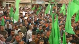 Thousands turn out for pro-Hamas rally in Gaza