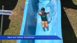 New sun safety guidelines introduced in Canada