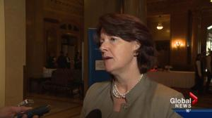 Alison Redford on Keystone, federal election