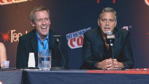 George Clooney jokes about spending his honeymoon at NY Comic-Con