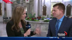 Wildrose Leader Brian Jean on budget