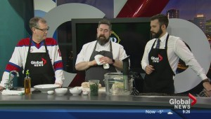 In the Global Edmonton kitchen with District Cafe