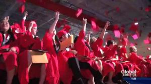Fort McMurray students take part in special graduation ceremony