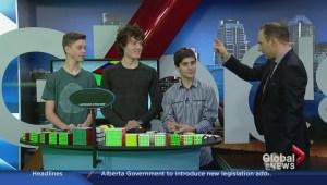 Local speedcubers show off the new Rubik's Spark