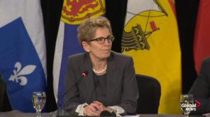 Kathleen Wynne on infrastructure needs