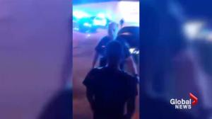 Lafayette police officer caught on camera slamming man to the ground