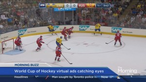 New virtual ads turning heads at WCH