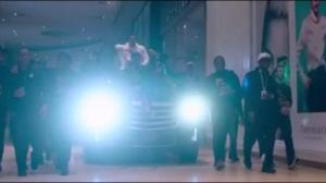 Drake drives SUV through Toronto mall in teaser video for OVO store