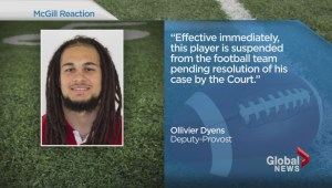 McGill football player charged with assault