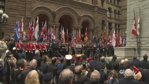 Remembrance Day tributes are pouring in Toronto and across the GTA