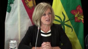 Rachel Notley on delaying marijuana legalization in Canada