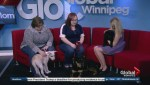 Dogs up for adoption on Global News Morning