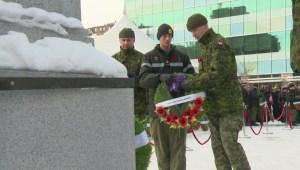 Calgary Highlanders at Central Memorial Park