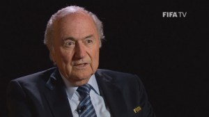 Blatter feeling 'happy' after re-election as FIFA president