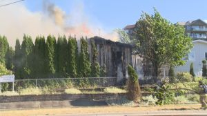 Fire destroys Kelowna home