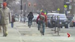 A cycling friendly city