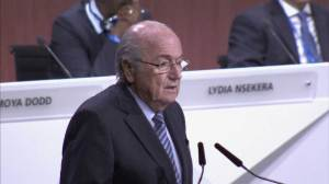 Blatter blames FIFA scandal on Russia and Qatar world cup bids