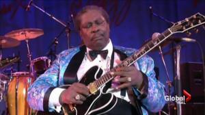 Blues legend B.B. King dead at 89
