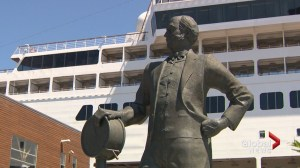 Halifax founder of Queen Mary 2 transatlantic passenger liner honoured