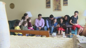 First Canadian Thanksgiving for Winnipeg's newest Syrians