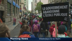 Quebec public sector, teachers strike