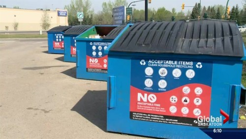 Calgary Blue Box Recycling Program