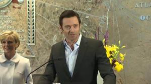 Hugh Jackman celebrates 'Australia Day' in New York