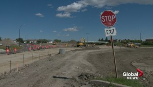 Flanders Avenue Crowchild overpass set to be demolished Labour Day